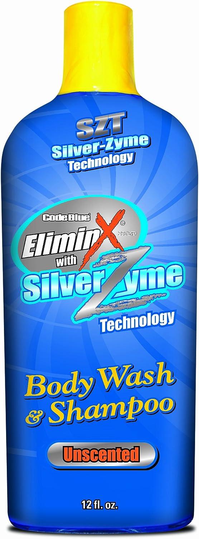 Code blueee EliminX Body Wash or Shampoo (12Ounce)