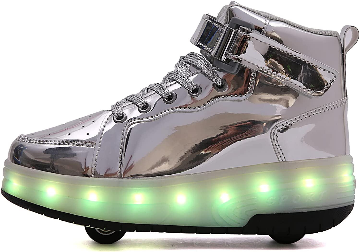 PYYIQI Light Up Shoes LED Roller Wheels Girls S Skate Quantity limited Boys Max 90% OFF