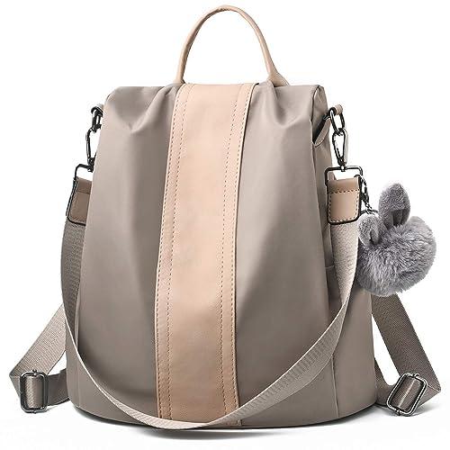 492ac1215c4 Charmore Women Backpack Ladies Rucksack Waterproof Nylon School bags  Anti-theft Dayback Shoulder Bags