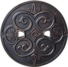 CASA NEWPORT 20-01011 Bronze Metal Skimmer Lid, 9.9-Inch
