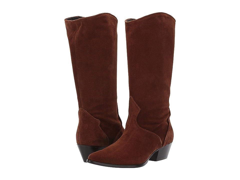 L.K. Bennett Benita Western Boot (Tobacco) Cowboy Boots