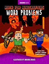 Math for Minecrafters Word Problems: Grades 3-4