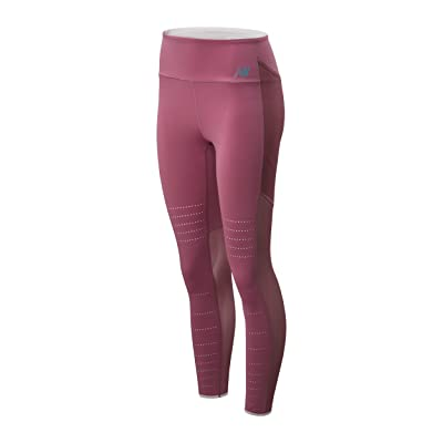 New Balance Q Speed Breathe Tights (Navajo Rose) Women