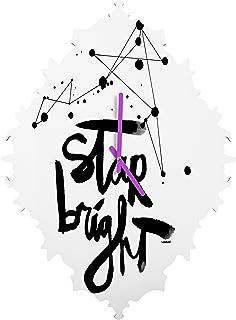 Deny Designs Kal Barteski, Star Bright, Baroque Clock, Small