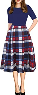 Best red white and blue vintage dress Reviews