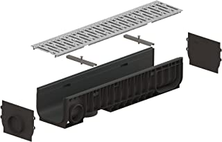 Standartpark - 8 inch trench drain steel grate package - PC8540