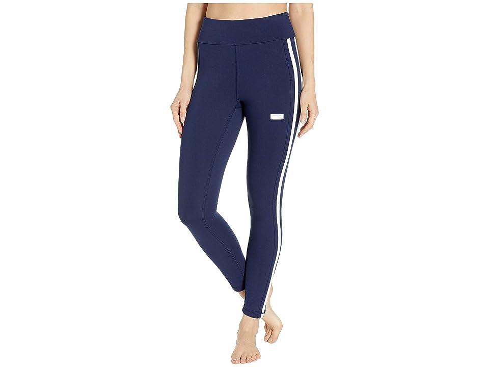 New Balance Athletics Track Leggings (Pigment/White) Women