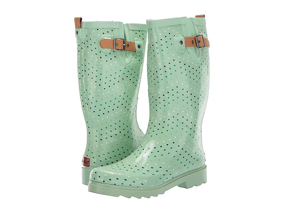 Chooka Chevron Dot (Mint) Women