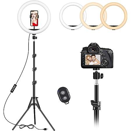 ShangSky LED Selfie Ring Light 12Cm USB Ring Fill Light for Photography for DSLR Camera Photo Studio