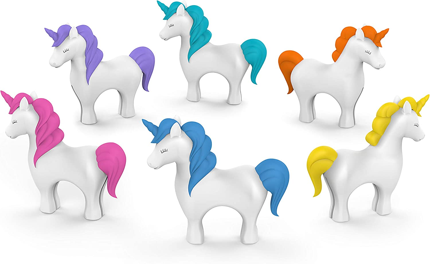 Genuine Fred Tiny Prancers Free shipping on posting reviews Unicorn Drink Markers Standard 2021 model