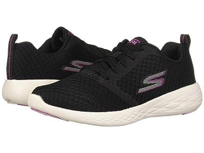 SKECHERS Go Run 600 (Black/Pink) Women