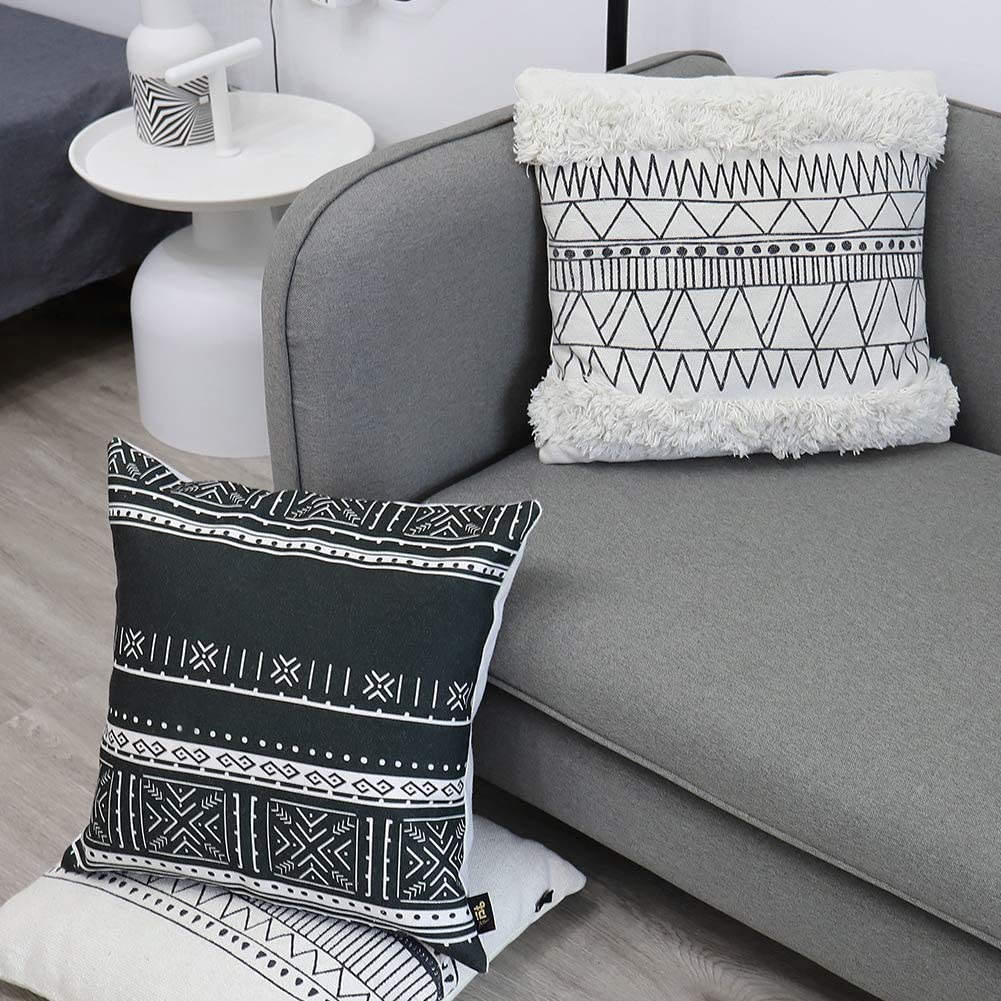 Sofa Decorative Sham Throw Pillow Insert for Bed Chair Yoobure 16x16 Pillow Insert Set of 2 Car Couch