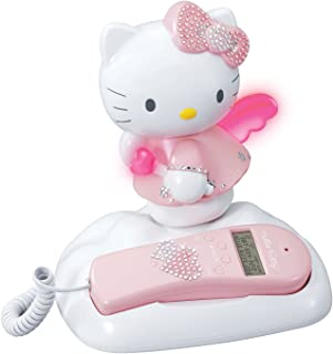 HELLO KITTY KT2012 Caller ID and Memory Telephone with Bling Jewels