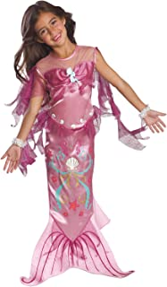 Child's Pink Mermaid Costume, Small