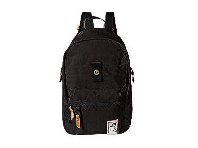 LOLA Utopian Small Backpack (Black) Backpack Bags