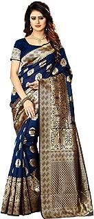 New Indian/Pakistani Ethnic Designer Multi Color Banarasi Silk Party Wedding Saree P 20