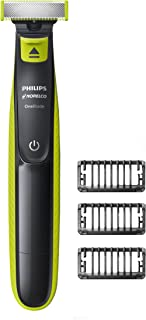 Philips Norelco OneBlade Hybrid Electric Trimmer and...