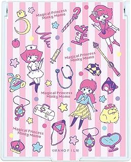 魔法のプリンセス ミンキーモモ 01 ピンクストライプデザイン(グラフアート) デカキャラミラー