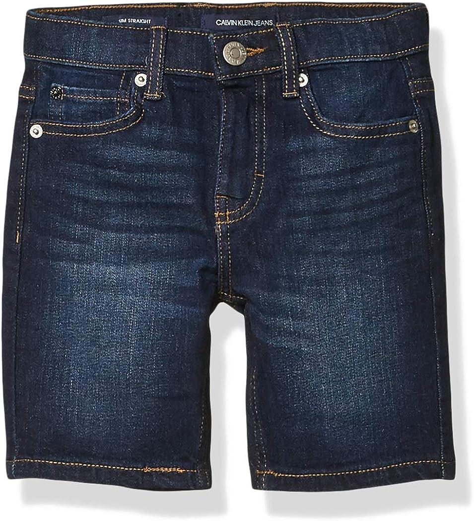 Calvin Klein Boys' Stretch Denim Short
