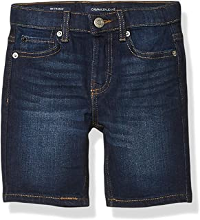 Calvin Klein Boys' Stretch Denim Short