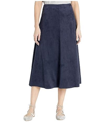 Lysse Dock Skirt in Summer Vegan Suede (Navy) Women