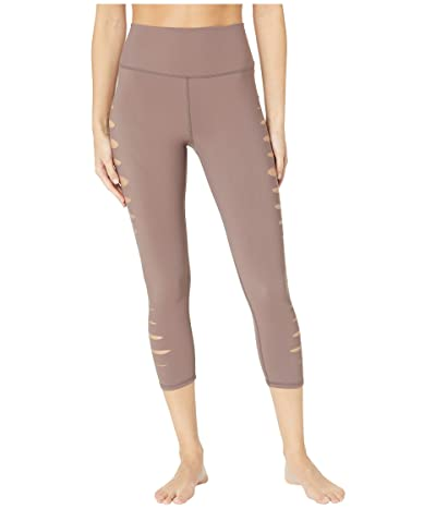 ALO High Waist Slice Capris (Coco) Women