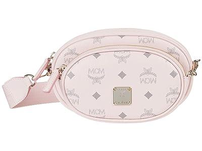 MCM Essential Visetos Original Crossbody Small (Powder Pink) Handbags