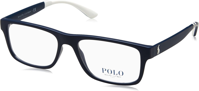 Eyeglasses Polo PH 2182 5662 MATTE NAVY BLUE