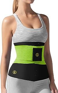 Hot Shapers Hot Belt Waist Cincher with Waist Trainer – Sweat Belt Band Corset