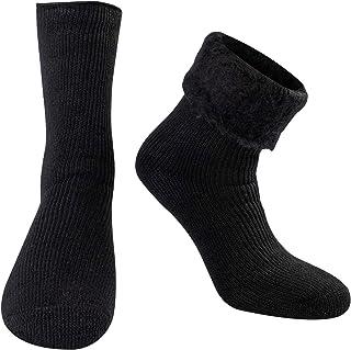 [フィットエックス] FITEX 靴下 メンズ 冬 極厚 厚手 裏起毛 防寒 極暖 冬用靴下 スポーツ アウトドア スキー スノーボード 登山 ふかふか ふわふわ