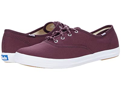 Keds Champion Seasonal Solids (Winetasting) Women