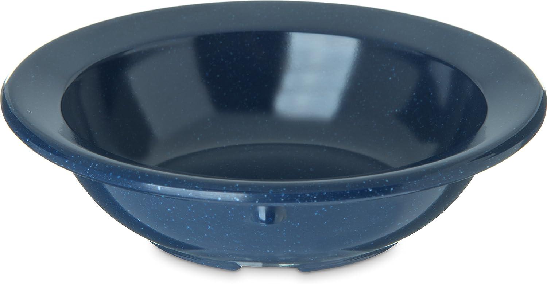 Carlisle 4353235 Dallas Ware Melamine Fruit Bowl, 3.5 oz, Café bluee (Pack of 48)