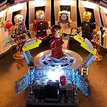 FenglinTech LED Light Kit for Lego Marvel Avengers Iron Man Hall of Armor 76125 Building Kit (Lego Set Not Included, 3rd P...