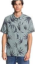 Quiksilver Deli Palm - Camisa de Manga Corta para Hombre EQYWT03957