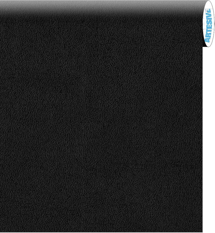 ARTESIVE TEC-022 Schwarz Leder 60 cm x 5 mt. - Klebefilm B06Y3WP2NP