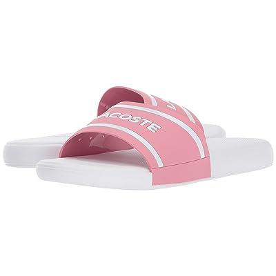 Lacoste Kids L.30 118 2 (Little Kid/Big Kid) (Pink/White) Girl