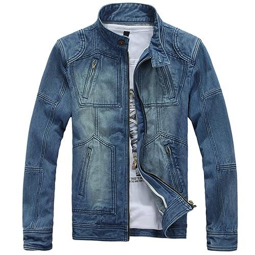 Zara Mens Leather Jackets Amazon Com