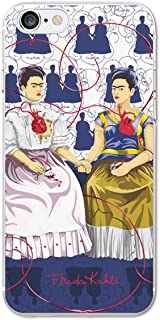 Ish Original Official Frida Kahlo Heart Phone Case/Cover Slim Soft TPU Apple iPhone 8