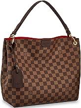 Louis Vuitton Damier Canvas Ebene Graceful PM Shoulder Handbag Article: N44044