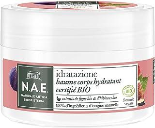 N.A.E. - Baume Corps Hydratant aux Extraits de Figue et d'Hibiscus - Certifié Bio - Hydratant - Idratazione - 98% d'ingréd...