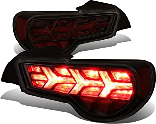 For FRS/BRZ / 86 Pair of LED Arrow Sequential Tail Light (Black Housing/Smoked Lens/Red Signal)
