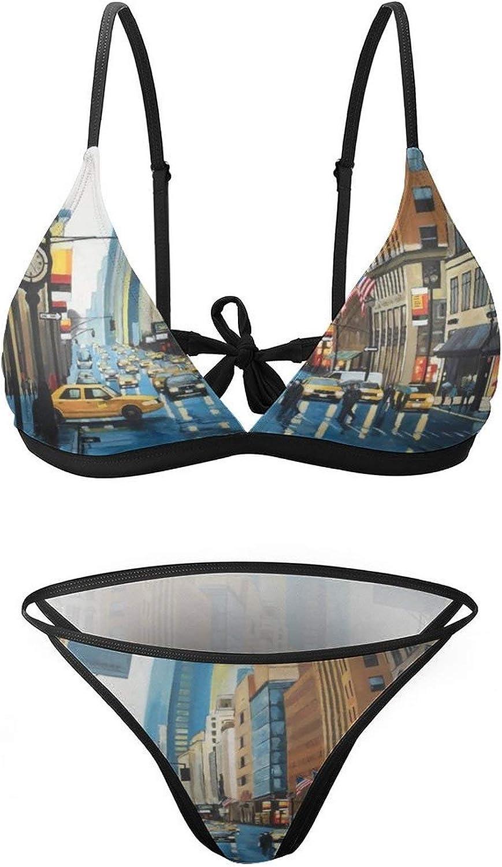 New York Street Sexy Swimwear 2 Bathing Piece Max 57% OFF ! Super beauty product restock quality top! Beach Suit Bikini