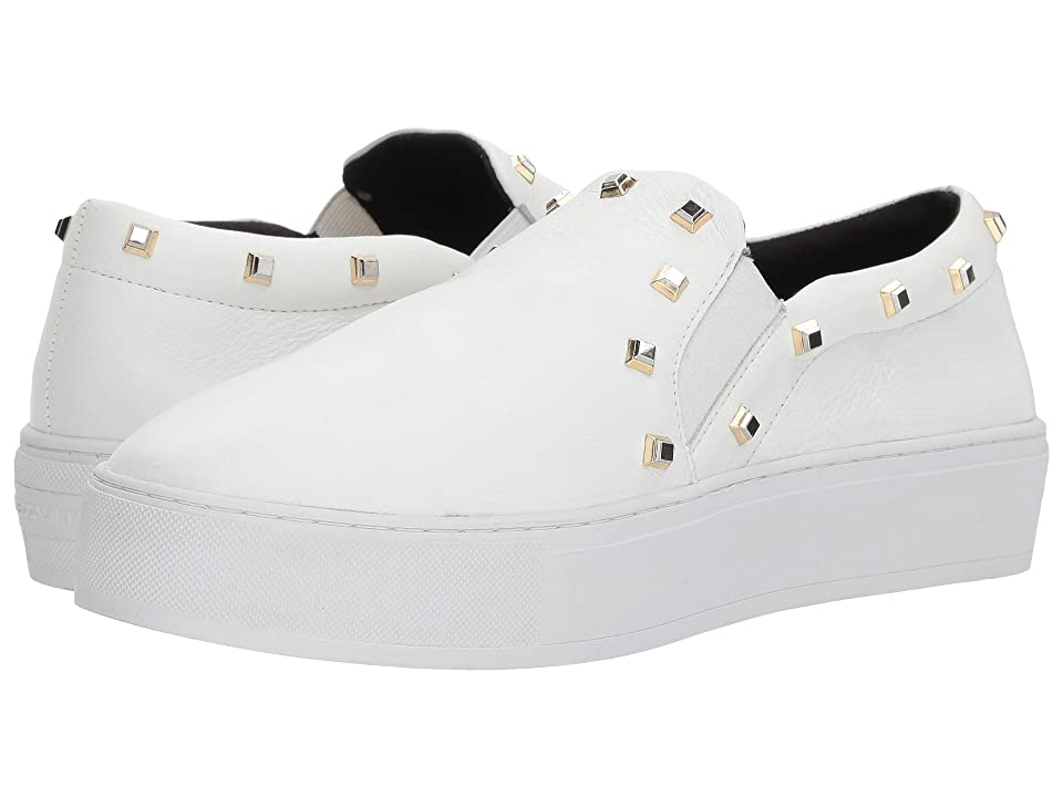 Rebecca Minkoff Nora Stud (Optic White Deluxe) Women