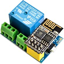 IZOKEE ESP8266 Relay with ESP8266 ESP-01S Serial WIFI Wireless Transceiver Module for Arduino Raspberry Pi
