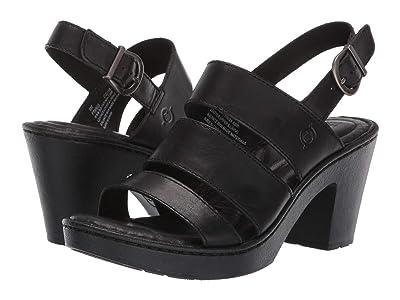 Born Warner (Black Full Grain Leather) Women