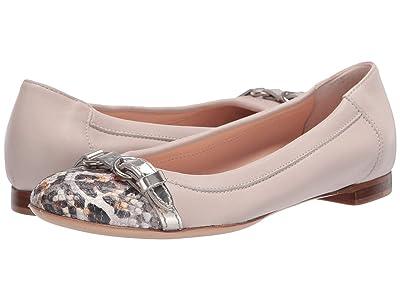AGL Captoe Ballet Flat (Gold) Women