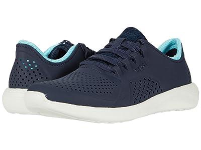 Crocs LiteRide Pacer (Navy/Ice Blue) Women