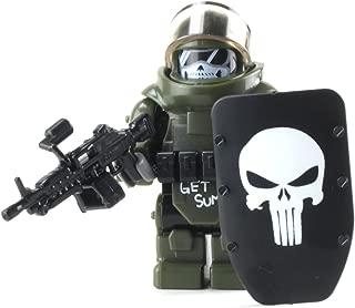 Battle Brick Custom Juggernaut Army Assault Soldier (SKU81) Custom Minifigure