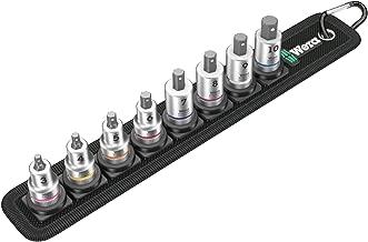 Wera 05003971001 Belt B 2 Zyklop Hex-Plus Bit Socket Set, 3/8