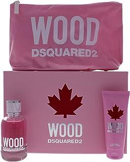 Dsquared2 Wood for Women Eau de Toilette 100ml+100ml Bl+Pouch Set